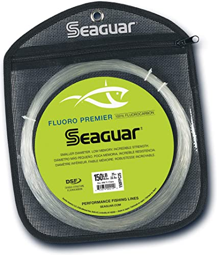 200-Pounds Seaguar Fluoro Premier 25-Yards Fluorocarbon Leader