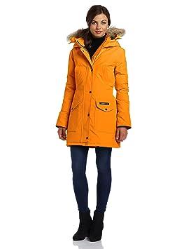 canada goose women s trillium parka sunset orange medium amazon rh amazon ca