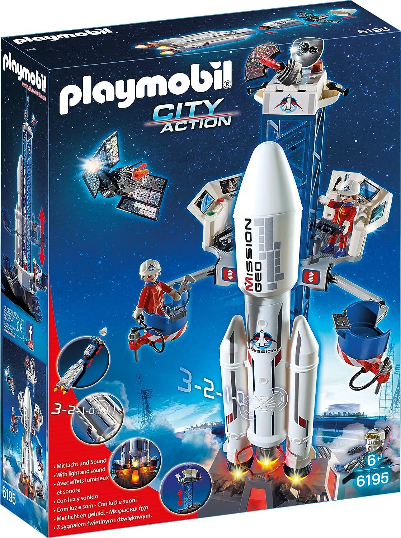 Raumschiff Spielzeug Playmobil Weltraumrakete