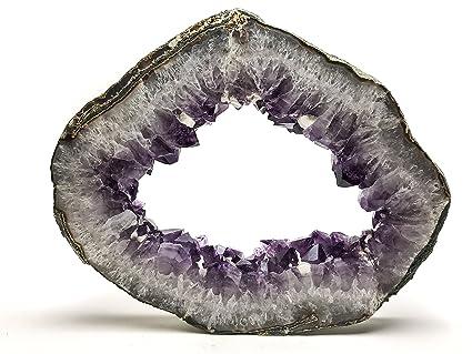 Amazon com: Astro Gallery Of Gems Amethyst Geode Slice from
