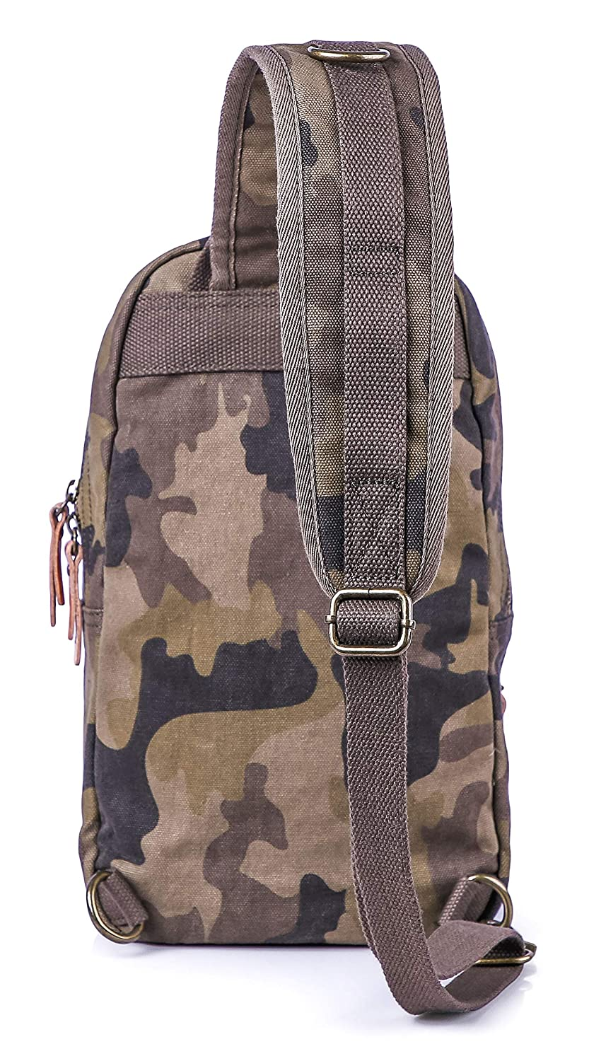 Gootium Camo Sling Bag – Canvas Crossbody Daypack