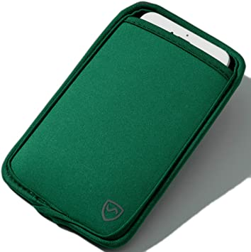 SYB Funda para móvil, Funda de protección de Neopreno CEM para teléfonos móviles de hasta 7cm (2.75