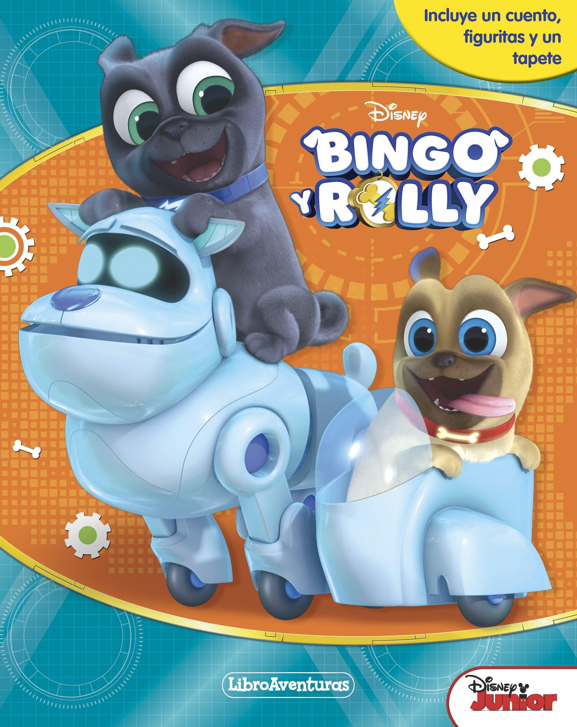 Bingo y Rolly. Libroaventuras: Incluye un cuento, figuritas ...