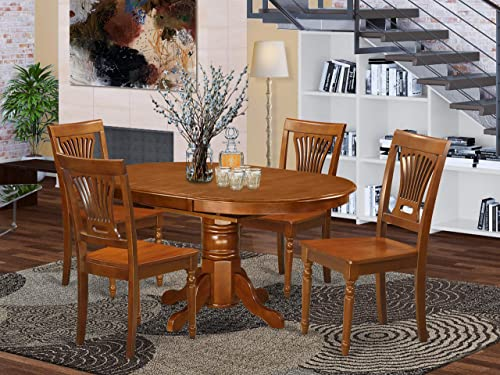Deal of the week: East West Furniture Dinette set 4 Great dining room chairs