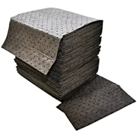 Spilfyter DB-75 Gray Universal Sorbent MRO Double Weight Absorbent Pad, 18