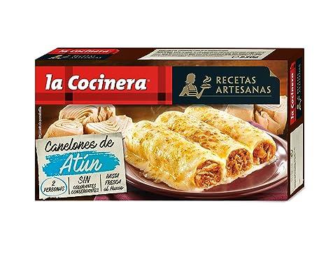 La Cocinera - Canelones De Atún, 530 g: Amazon.es ...