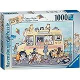Ravensburger Linda Jane Smith Vintage No.3 - Crazy Cats - Sunset Ices 1000pc Jigsaw Puzzle