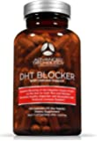 DHT Blocker with Immune Support Supplement- High Potency Saw Palmetto, Green Tea & Probiotics - 120-count bottle
