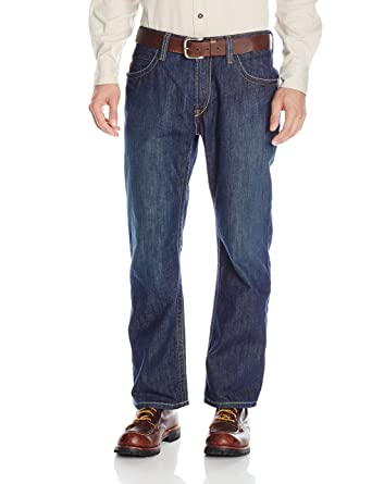 Ariat Men's Shale Fire Resistant Bootcut Work Jeans at Amazon ...