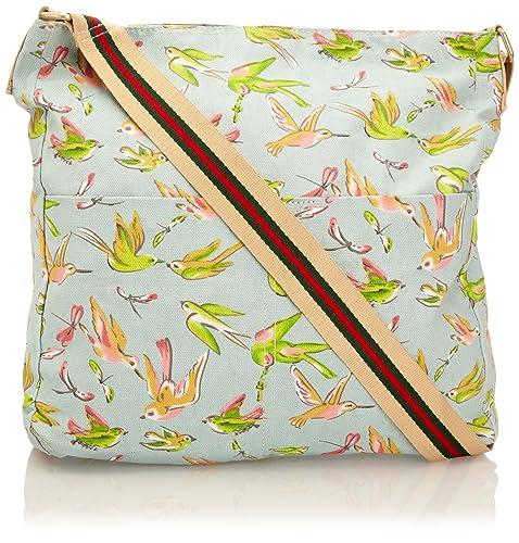 SWANKYSWANS® Kerry Garden Birds Print Crossbody Bag ...