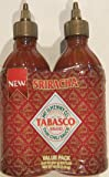 Tabasco Sriracha Thai Chili Sauce Value Pack 20 Ounce (Pack of 2)