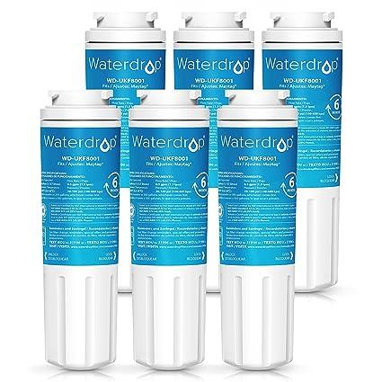 amazon com waterdrop ukf8001 refrigerator water filter compatible rh amazon com