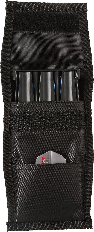 1X Black Plastic Dart Storage Case Lightweight Darts Box for Dart Collectiofa