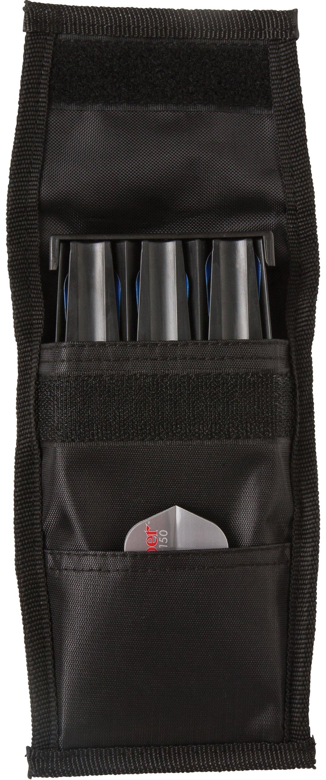 Casemaster Belt Clip 3 Dart Nylon Storage/Travel Case, Black by Casemaster by GLD Products