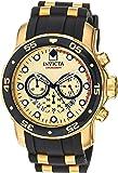 Invicta Men's Pro Diver 17566 Stainless Steel, Polyurethane Chronograph Watch
