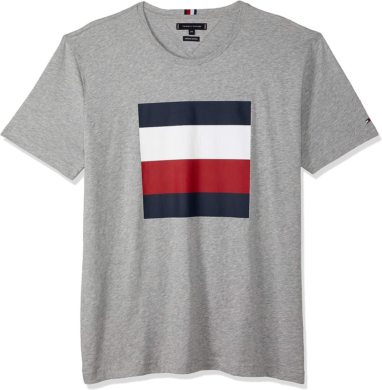 Tommy Hilfiger MW0MW11405 Embossed Box Camisetas Y Camisa DE Tirantes Hombre Grey Heather XL: Amazon.es: Ropa y accesorios