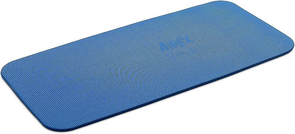 Yogamatte Matte Hometraining Fitness Airex 120x60x1 Gymnastikmatte blau