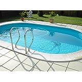 Pool Schwimmbecken Oval Ovalpool 8,00 x 4,00 x 1,50m IH 0,8mm