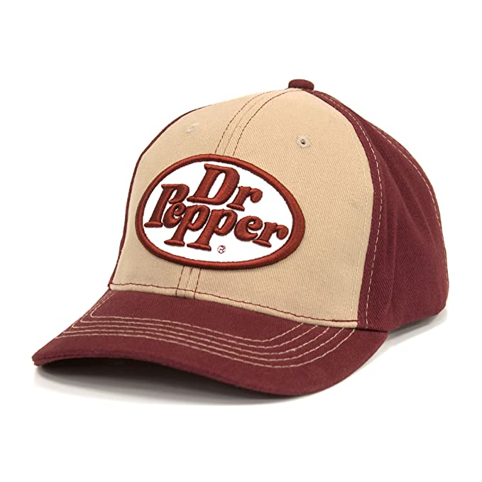 Tee Luv Dr Pepper Oval Logo Hat  Amazon.ca  Clothing   Accessories 1e86f571bc58