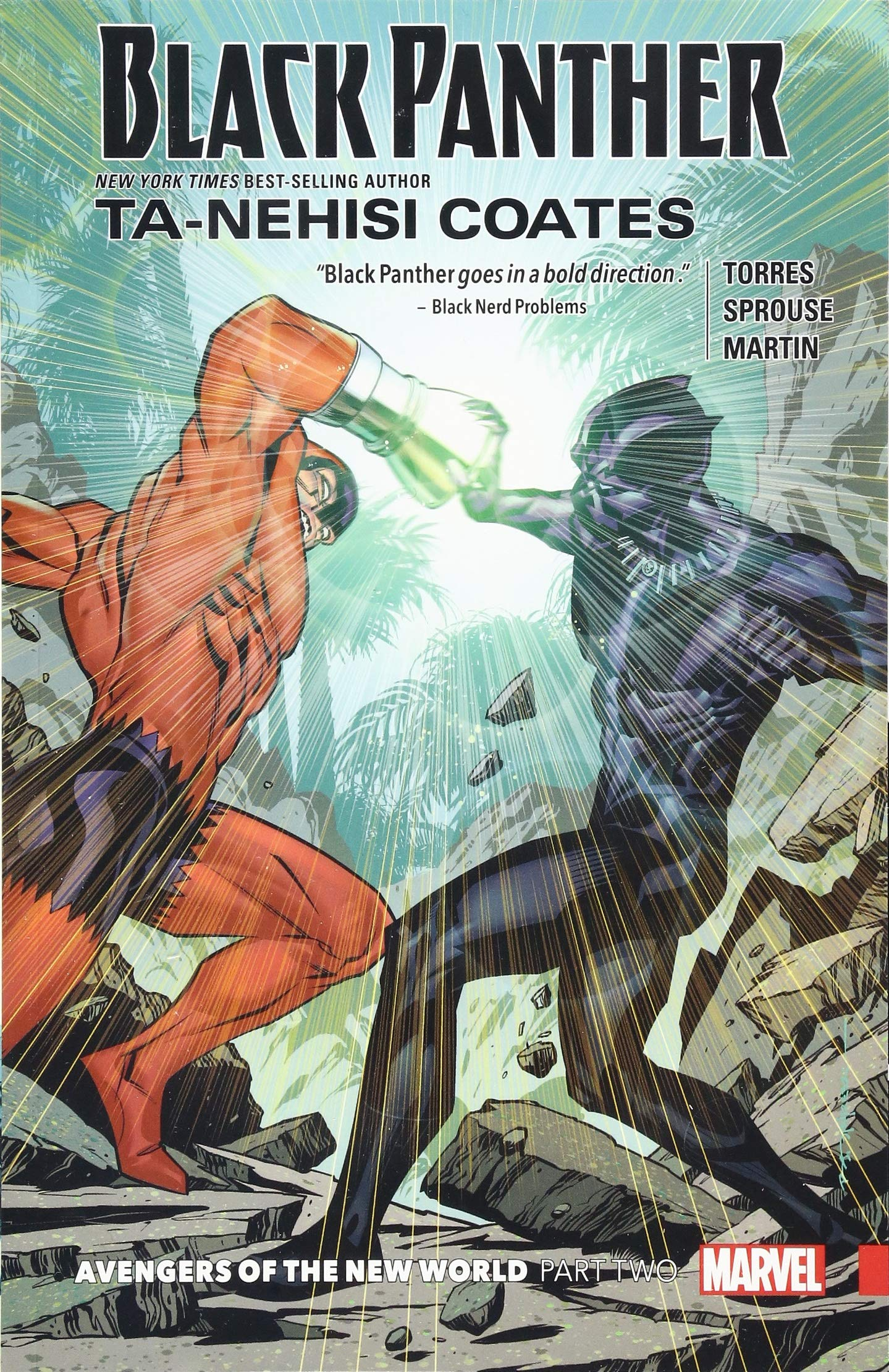 Amazon Com Black Panther Book 5 Avengers Of The New World Part 2 9781302909888 Coates Ta Nehisi Kirk Leonard Sprouse Chris Books