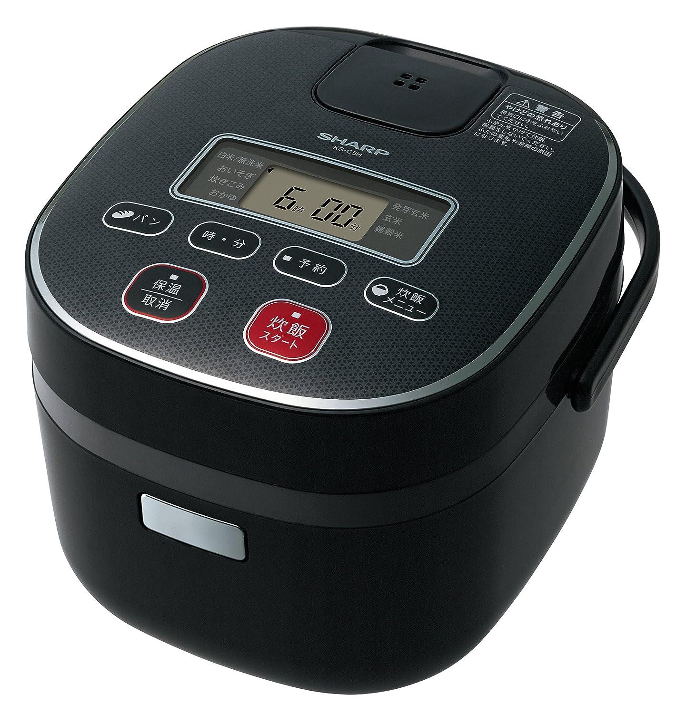 シャープ 炊飯器0.54Lタイプ ブラック系 KS-C5H-B B00QUHCSIY