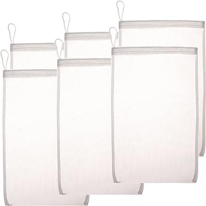 """18/"""" x 12/"""" Filter Media Bag Fine Mesh Holding Bag for Aquarium Pond Filter"""