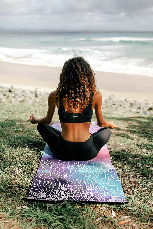 Amazon.com: Meraki Luxe impreso esterilla de yoga | Premium ...