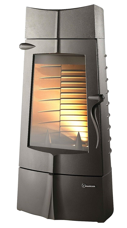 Estufa de leña invicta de fundición y doble combustión de 14 kw: Amazon.es: Bricolaje y herramientas