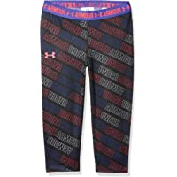 Under Armour Printed Armour Pantalones Pirata, Niñas