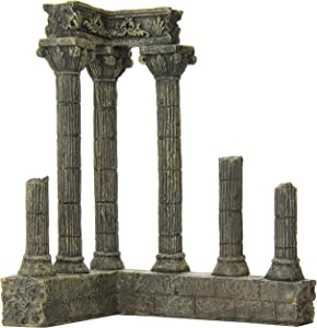 SPORN Aquarium Decoration, Corner Column