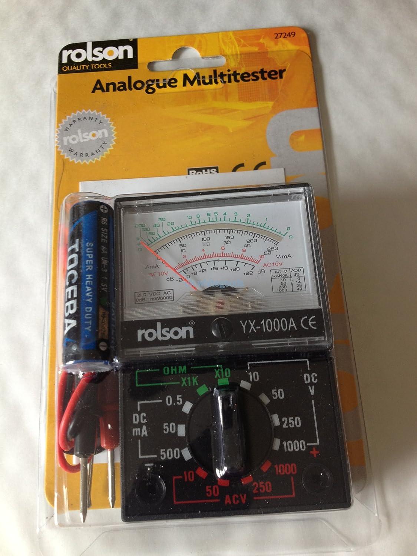 Rolson 27249 Analogue Multimeter