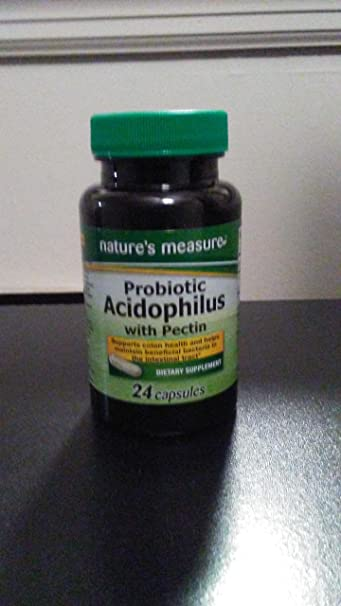 Probiotic Acidophilus with Pectin. 200 million colonies per serving