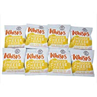 Whisps Cheese Crisps 8 pack (0.63oz) Cheddar