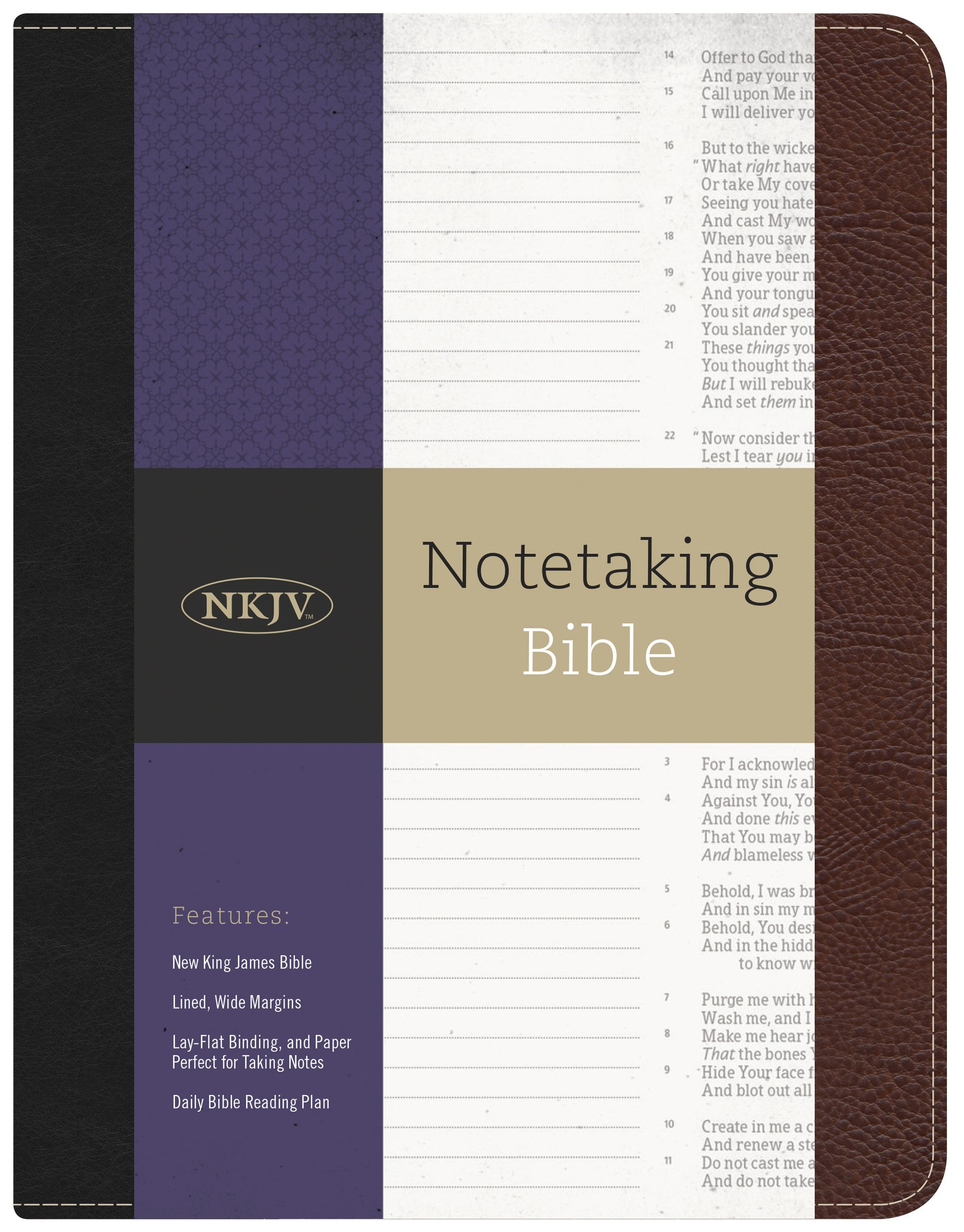 Nkjv Notetaking Bible: Holman Bible Staff: 9781433643040: Amazon: Books