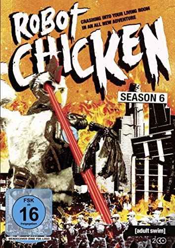 Robot Chicken: Season 6 [2 DVDs] [Alemania]: Amazon.es: Seth Green, Kat Dennings, Stan Lee, Melissa Joan Hart, Billy Zane, Mark Hamill, Sarah Chalke, Whoopi Goldberg, Zeb Wells, Seth Green, Kat Dennings: Cine