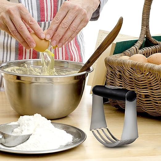 Mélangeur à Pâte Cutter avec lames en acier inoxydable cuisine outil pâtisserie Fournitures