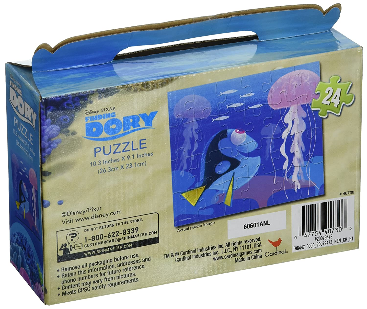 Cardinal Finding Dory Gift Box Puzzle Set 24 Piece Set of 2 Disnep 40730