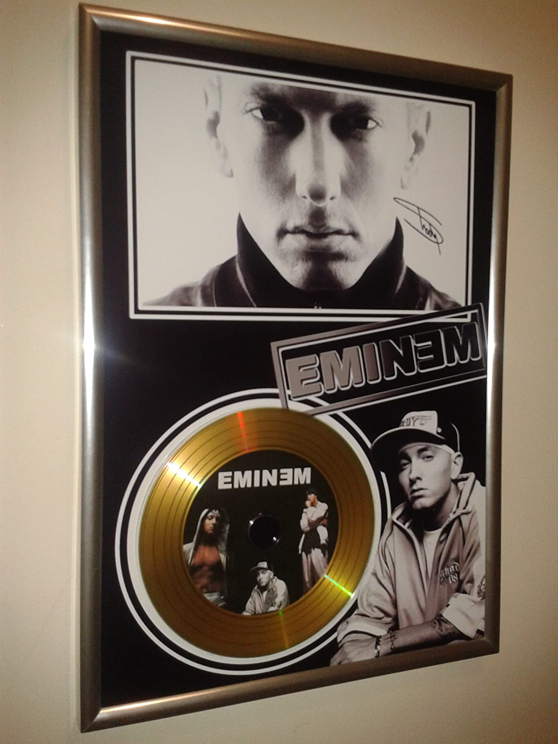 HWC Trading Eminem Signed A4 Printed Autograph Slim Shady Print Photo Picture Display