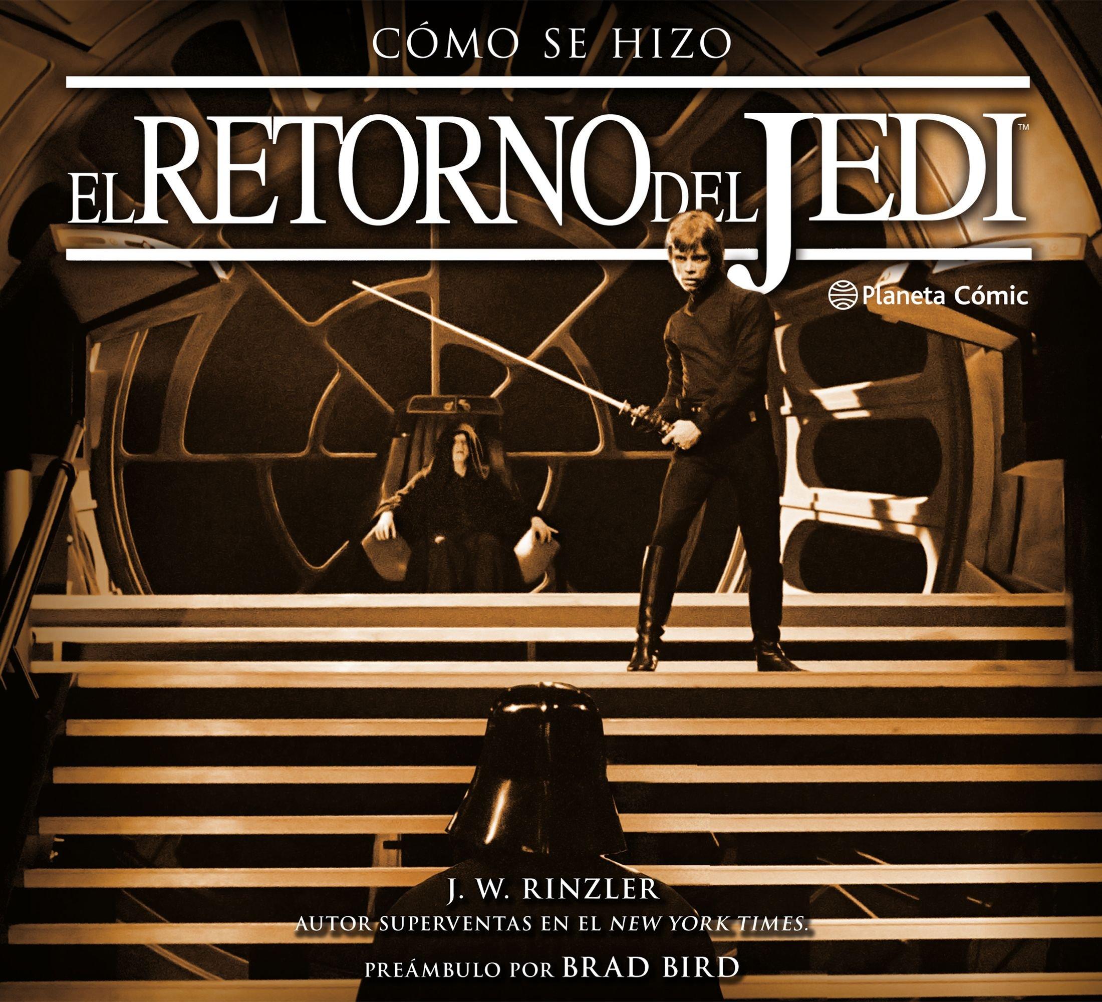 Cómo se hizo Episodio VI El retorno del Jedi (Star Wars: Guías Ilustradas) Tapa dura – 27 nov 2018 Jonathan W. Rinzler Ignacio Bentz Planeta DeAgostini Cómics 8491461647