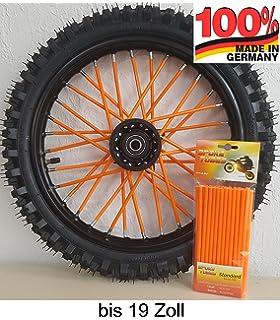 Speichen Cover Husqvarna 701 Supermoto Motea SPX orange