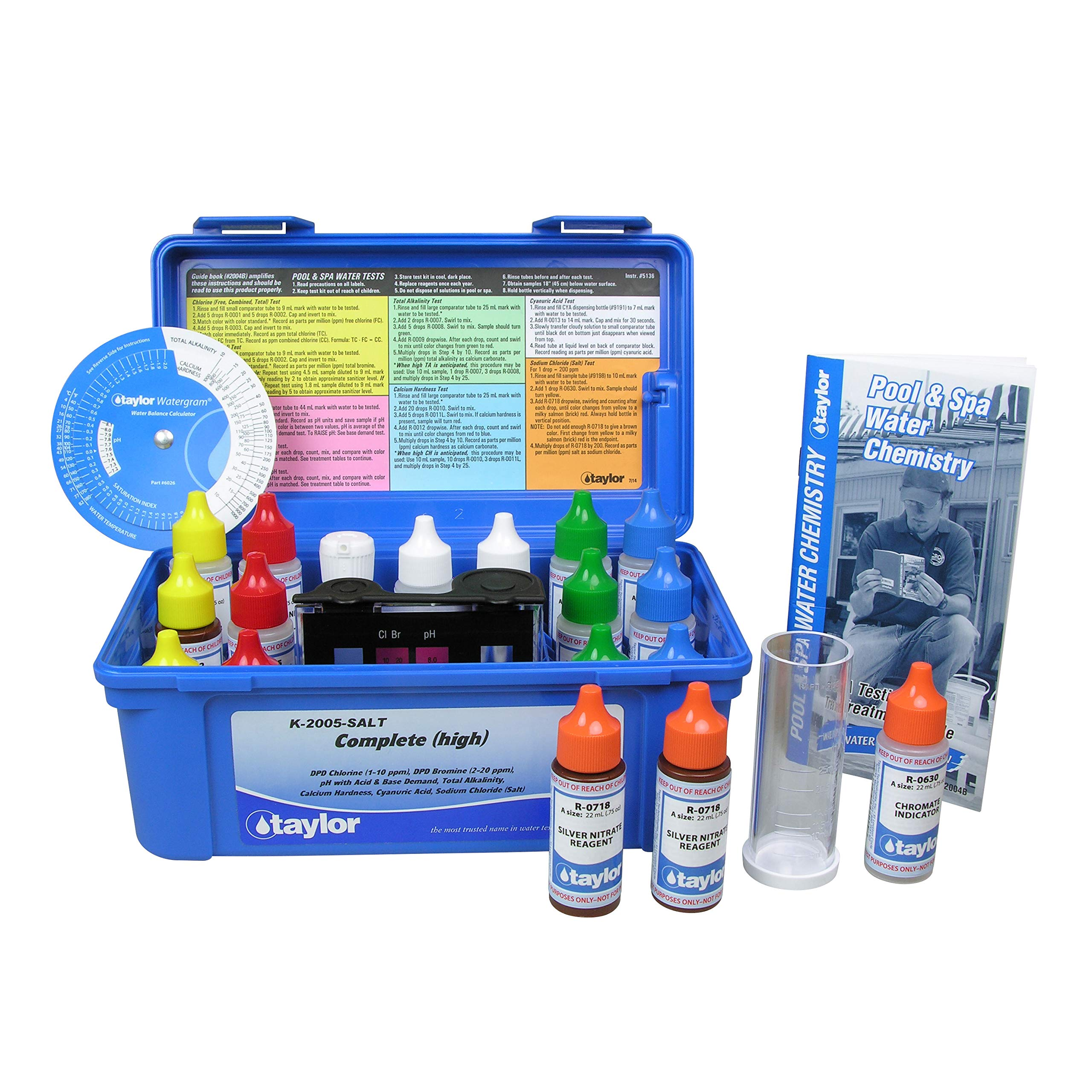Taylor Technologies K-2005-SALT Test Kit Complete High by Taylor Technologies