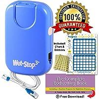 Wet Stop 3 Blue Bedwetting Enuresis Alarm con sonido y vibración Bed Monitor para Bedwetters