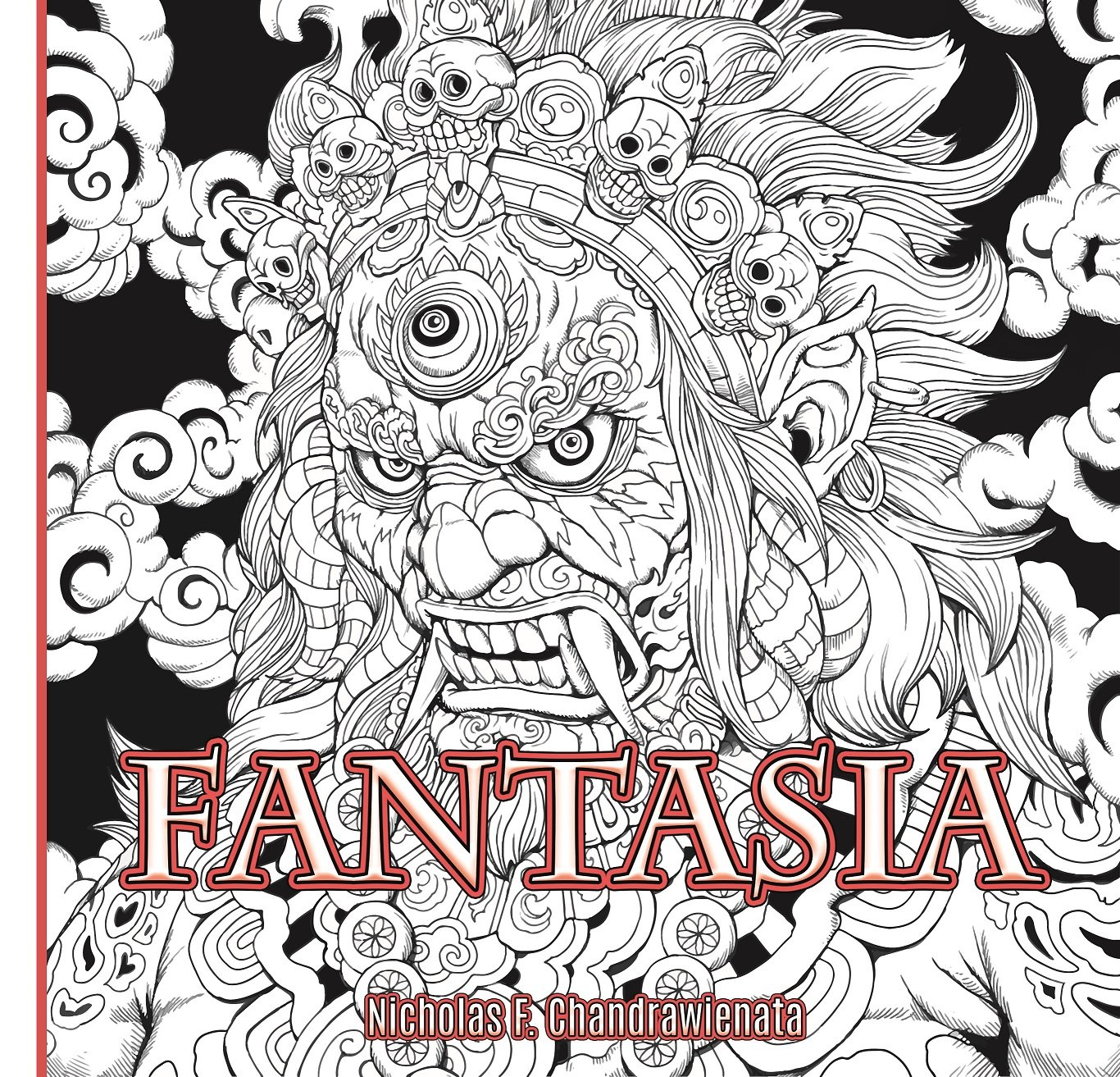 - Amazon.com: Fantasia Anti-Stress Adult Coloring Book - 3rd US