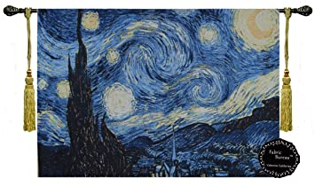 Amazon [Free Shipping] Beautiful Starry Night By Vincent Van