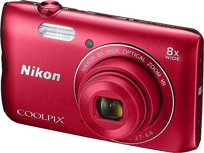 Nikon Coolpix A300 - Cámara Digital compacta de 20.1 MP (Pantalla LCD de 2.7