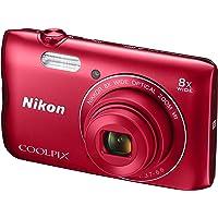 Nikon Coolpix A300 Appareil photo numérique 20.48 Mpix Zoom Optique 8 x Rouge