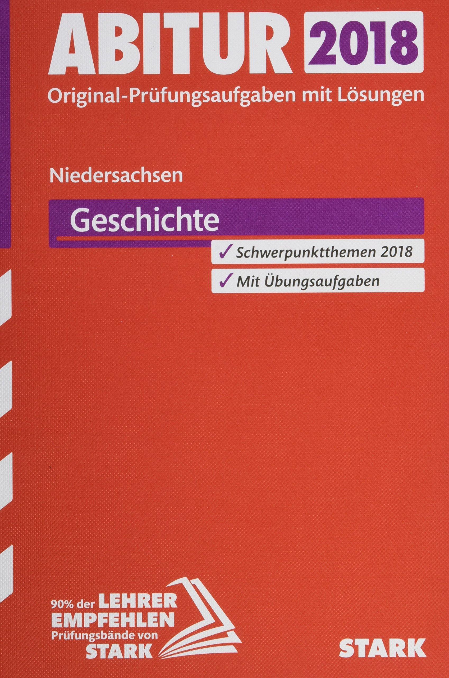 STARK Abiturprüfung Niedersachsen   Geschichte GA EA