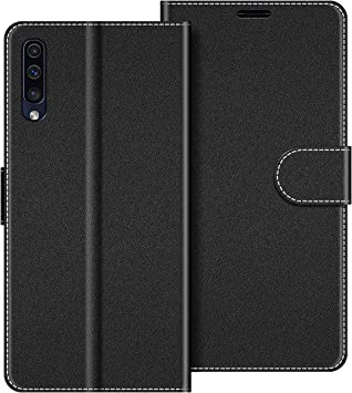 COODIO Funda Samsung Galaxy A50 con Tapa, Funda Movil Samsung A50 ...