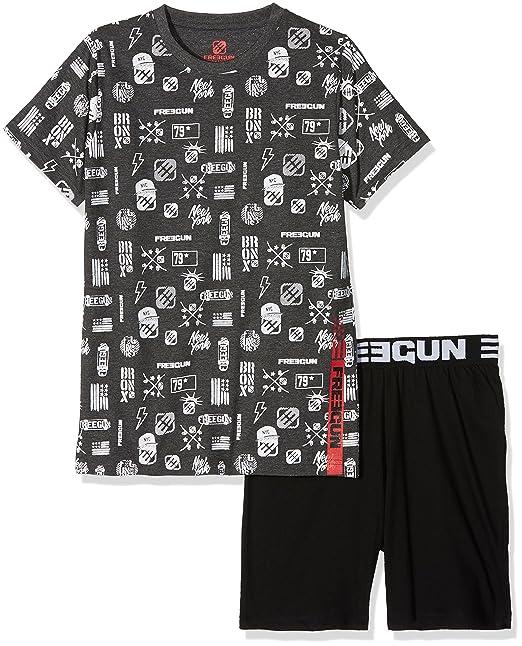 MZ, Conjuntos de Pijama para Niños, Negro