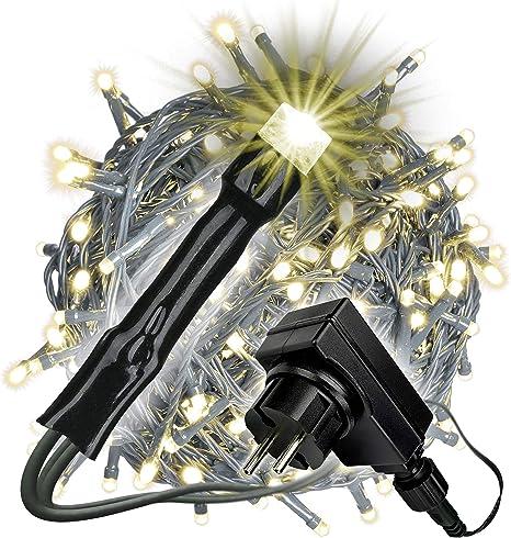 Lichterkette 400 LED warmweiß 45 m Weihnachtsbeleuchtung Weihnachtsdeko